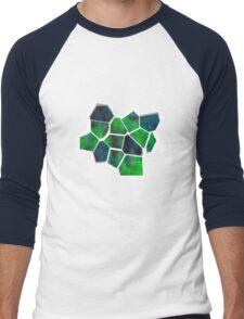 Abstract Design Men's Baseball ¾ T-Shirt