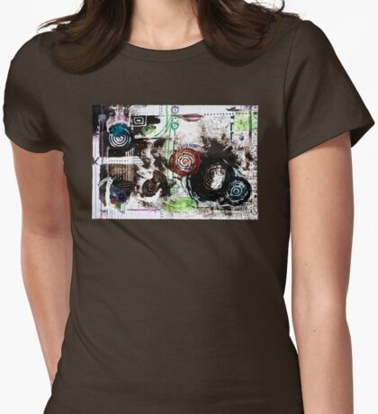 Bring Spring In Womens Fitted T-Shirt