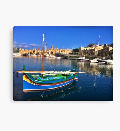 Maltese Traditional Boat Canvas Print