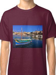 Maltese Traditional Boat Classic T-Shirt