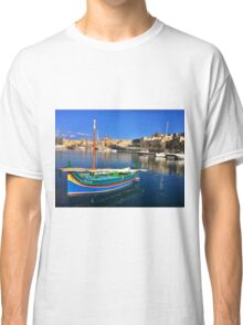 Maltese Traditional Boat Classic T-Shirt