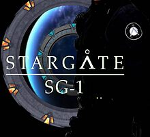 SG1 Poster 1 / Michael Shanks (2013) by NightwingDesign