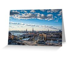 Stockholm Tower Greeting Card