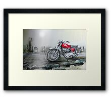 Somewhere along the way Framed Print