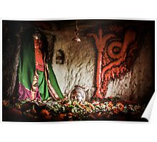 Shiva in a Cave Poster