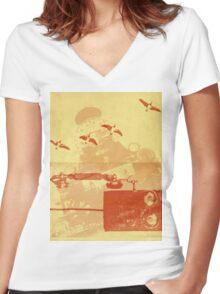 Journey Women's Fitted V-Neck T-Shirt