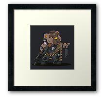 SNUGZ (Black) Framed Print