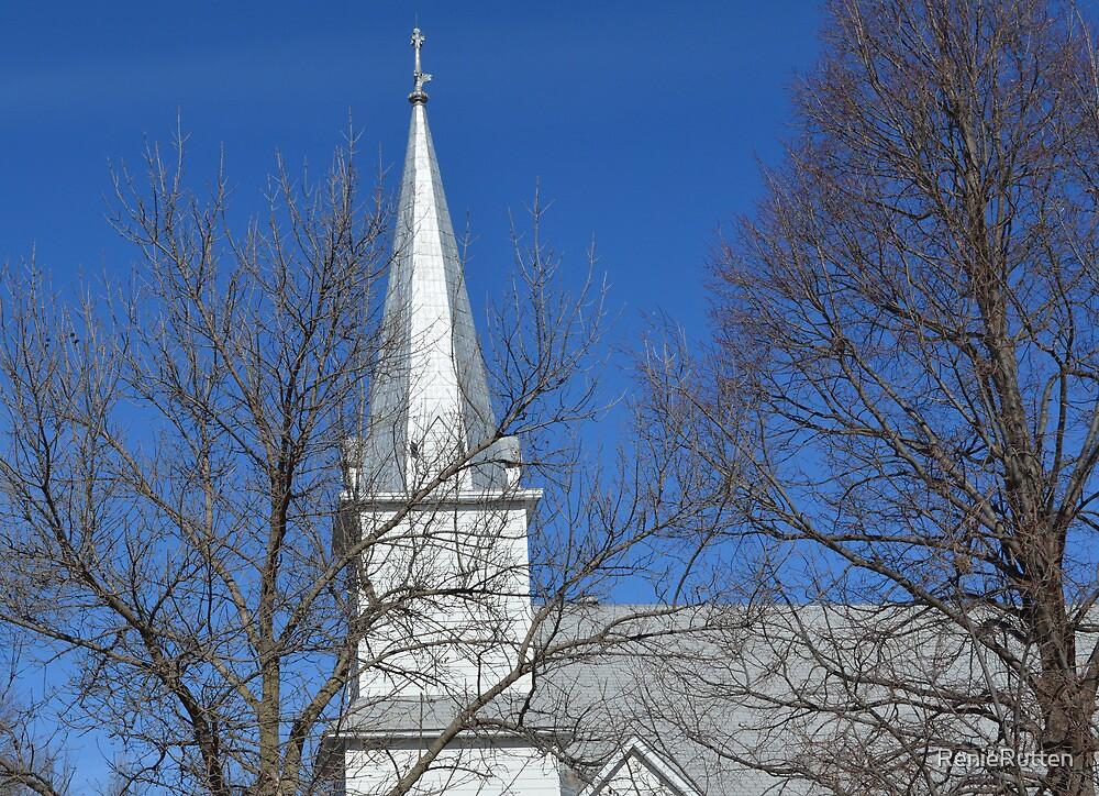 Salem Church Steeple by RenieRutten