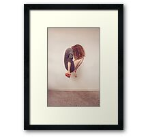 The Acrobat - Surreal Photography Framed Print