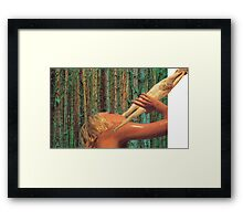 M Blackwell - Nothing Refreshes Like The Leg of Christ Framed Print