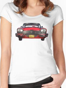 """""""Christine"""",  Plymouth Fury  Women's Fitted Scoop T-Shirt"""