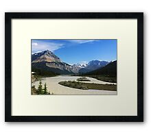 Athabasca River Framed Print