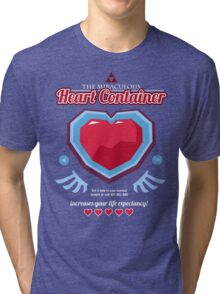 The Miraculous Heart Container Tri-blend T-Shirt