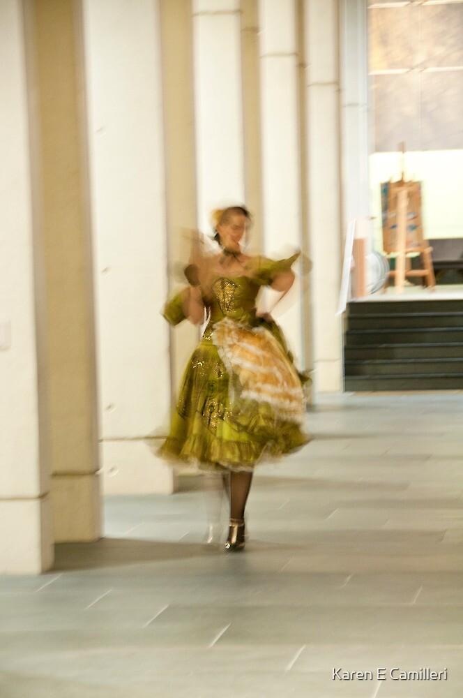 Impressionist walk by Karen E Camilleri