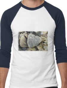 Rocks of Love Men's Baseball ¾ T-Shirt
