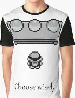 Pokemon - The choice Graphic T-Shirt