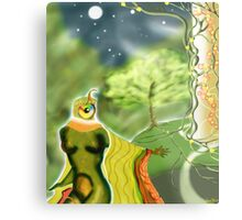 In the Forest, by the white Tower Metal Print
