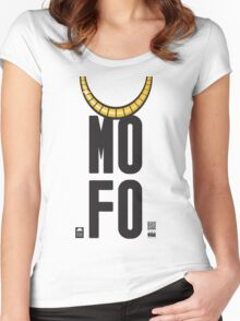 The Vale - MOFO (Bad Foyo Elf's shirt) Women's Fitted Scoop T-Shirt