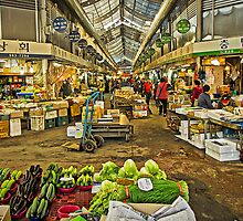 Inside the Gyeongdong Market at Seoul by TonyCrehan