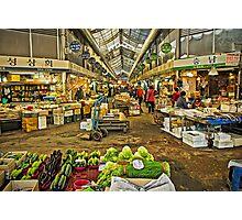 Inside the Gyeongdong Market at Seoul Photographic Print