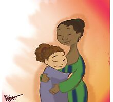 I love You Mom! by ArtbyNosa