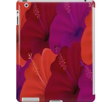 Orange, Pink, Purple and Red Flowers iPad Case  iPad Case/Skin