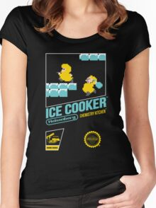 Ice Cooker Women's Fitted Scoop T-Shirt