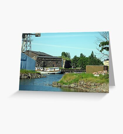 Suomenlinna Finland - Repurposed Fort Greeting Card