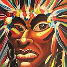 Native American Fantacy by Suzanne Marie Leclair by LeclairArt
