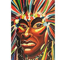 Native American Fantacy by Suzanne Marie Leclair Photographic Print