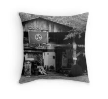 Tennessee Woodcarver Throw Pillow