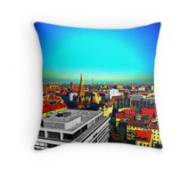 Watch over. Throw Pillow