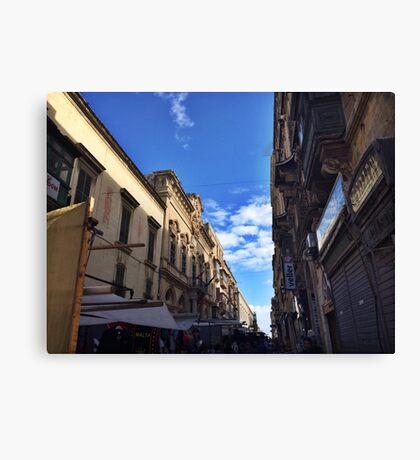 Market Place - Chiara Conte Canvas Print