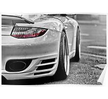 Porsche 997 Turbo MkII Poster