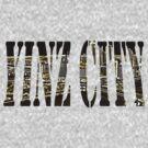 Yinz City: Black/Yellow Highlights by Ashe Bandia
