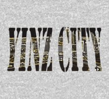 Yinz City: Black/Yellow Highlights T-Shirt
