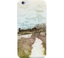 Coastal path at Crail in Fife, Scotland [Colour version] iPhone Case/Skin