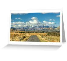 The Road To The Fells Greeting Card
