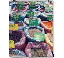 Spices at the French Market iPad Case/Skin