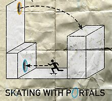 Skating with Portals by e4c5