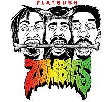 FLATBUSH ZOMBIES BONE EATERS Photographic Print