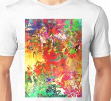 Abstract pen drawing late 1990s Unisex T-Shirt
