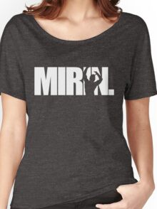 Mirin. (version 1 white) Women's Relaxed Fit T-Shirt