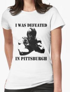 I Was Defeated, Bane: Grayscale Womens Fitted T-Shirt