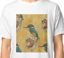 Blue kingfisher art. Classic T-Shirt