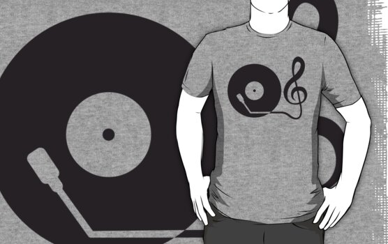 Music Clef Turntable DJ by Style-O-Mat