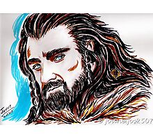 Thorin Oakenshield, Mr Armitage Photographic Print