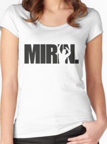 Mirin. (version 1 black) Women's Fitted Scoop T-Shirt
