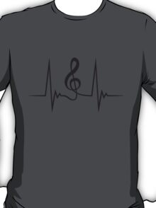 Music Notesclef Electro Pulse T-Shirt