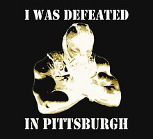 I Was Defeated, Bane: Inverted/Yellow Mens V-Neck T-Shirt